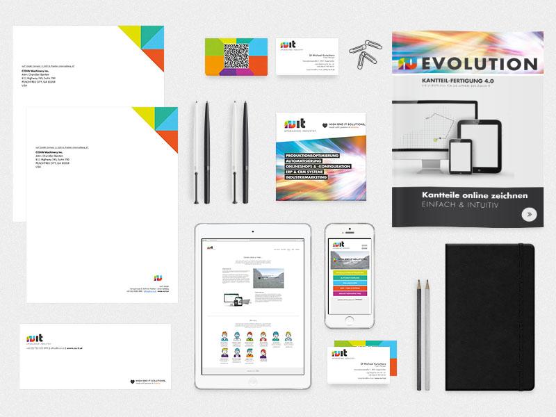 Corporate Design - KUTECH Web & Werbung