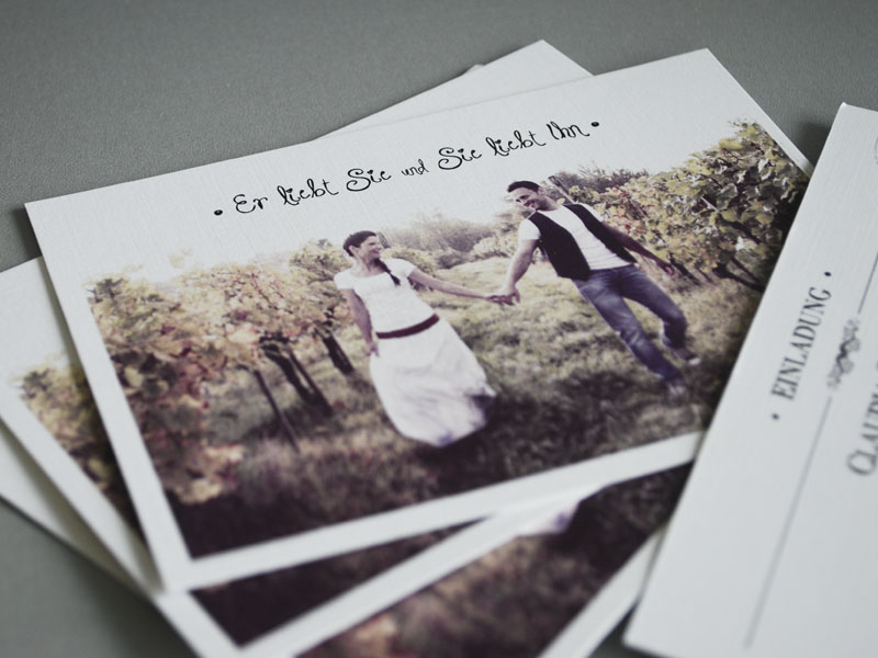 einladungen, dankeskarten, fotodrucke - kutech web & werbung, Einladungen